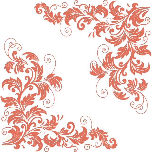@ vector ornament. Retro vintage ornaments png