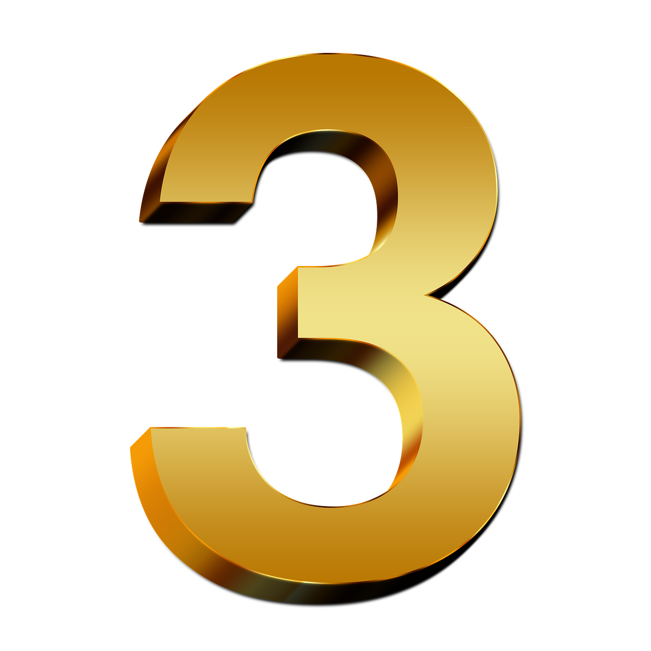 the number 3 png