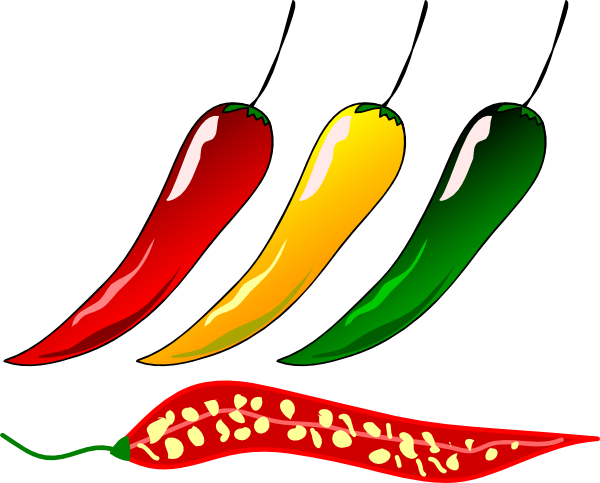 chili clipart ghost pepper