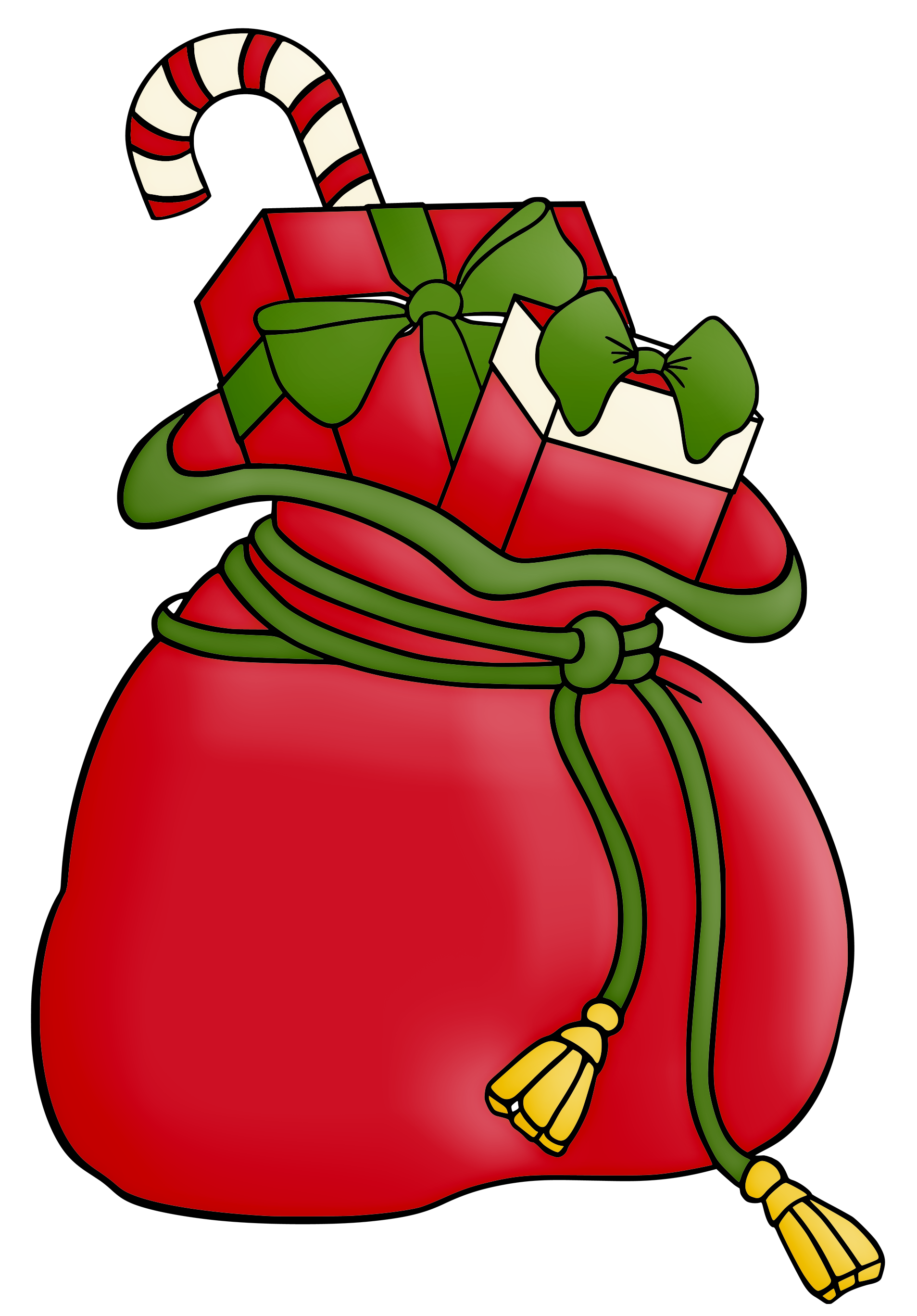 Sack clip art find. 1 clipart christmas image free download