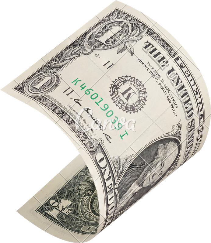 1 dollar bill png. Flying one photos by