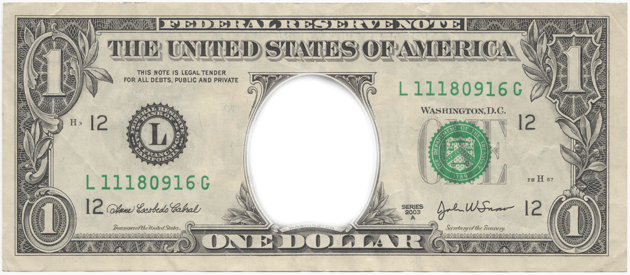 1 dollar png. Transparent images pluspng texture