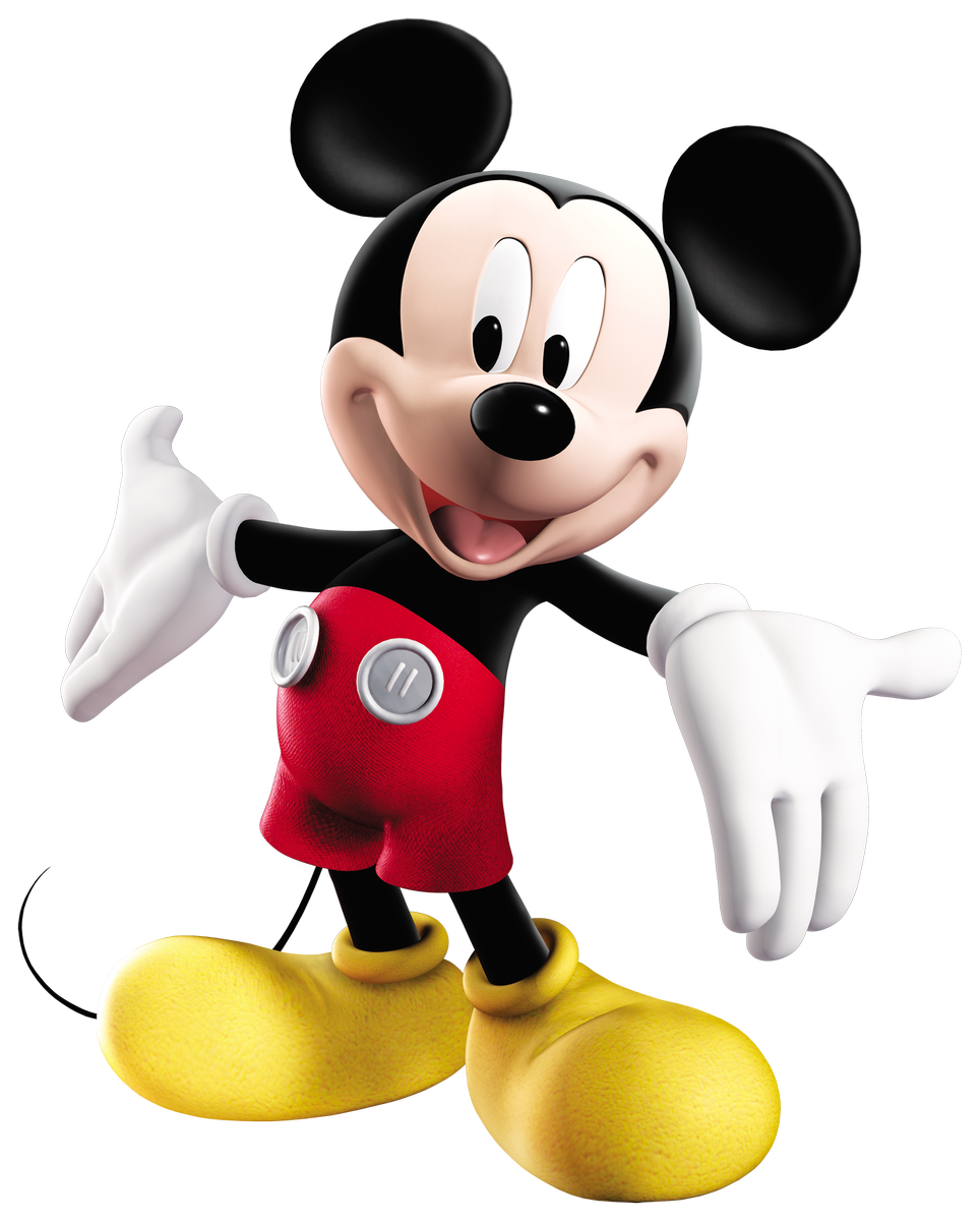 mickey mouse 3d png