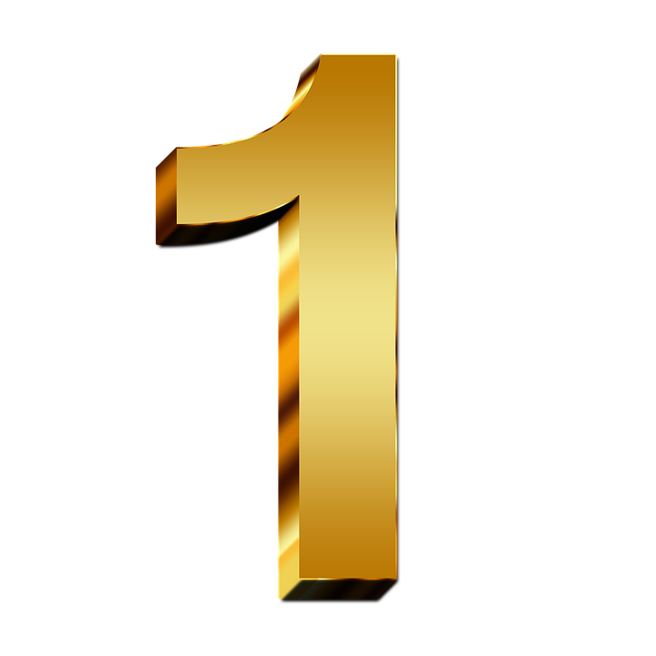 number 1 png