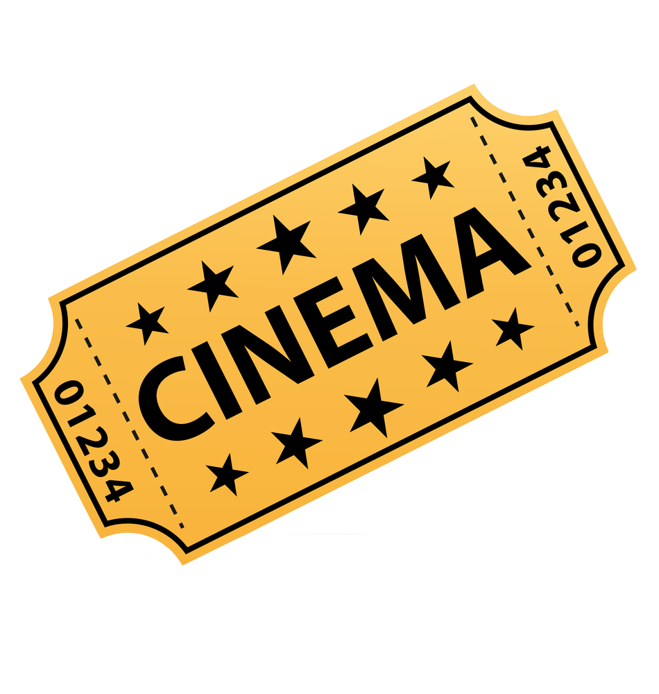 1 ticket png. Movie transparent images pluspng