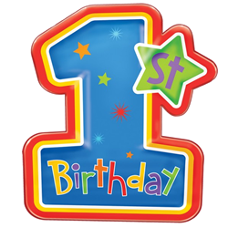 1st birthday png. St candle image