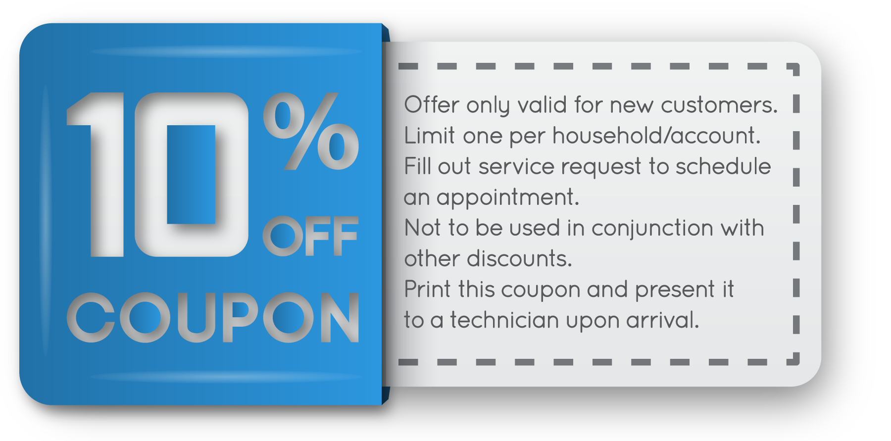 10% off coupon png. Busby s plumbing service