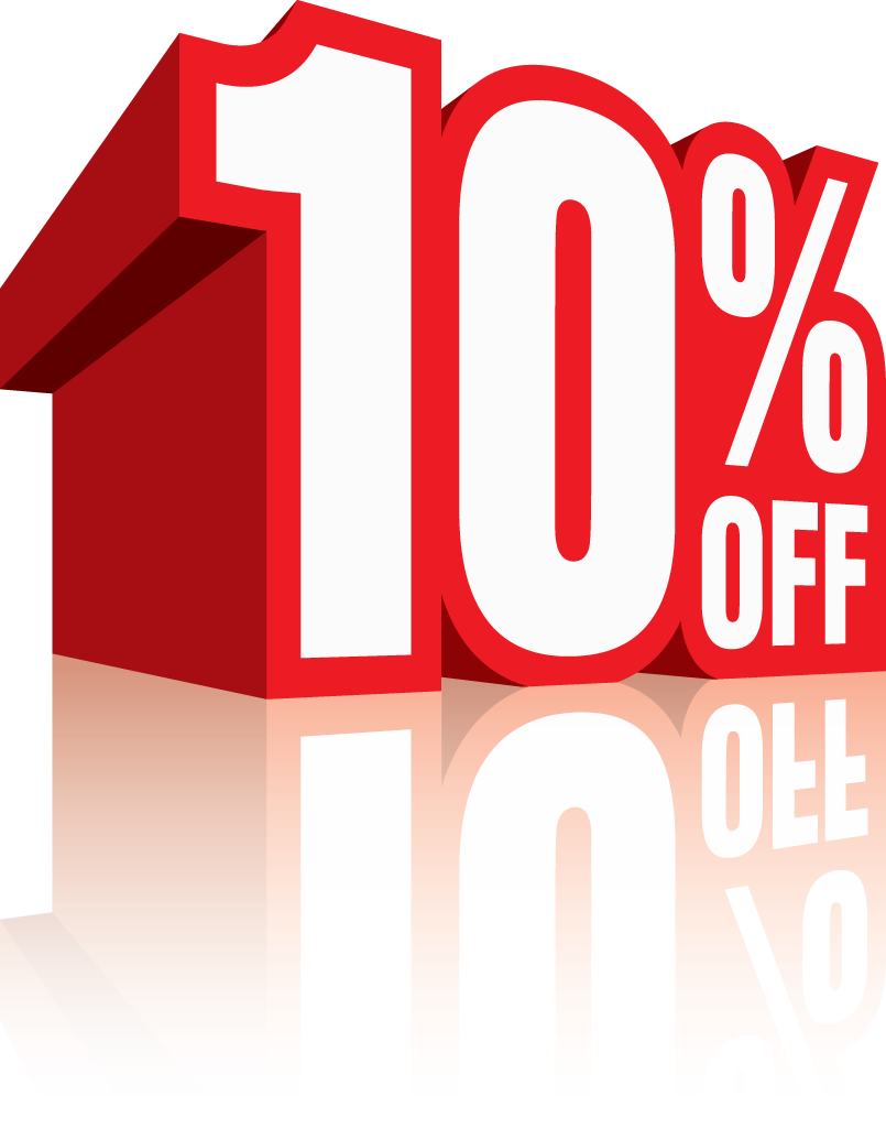 10% off coupon png. End of year