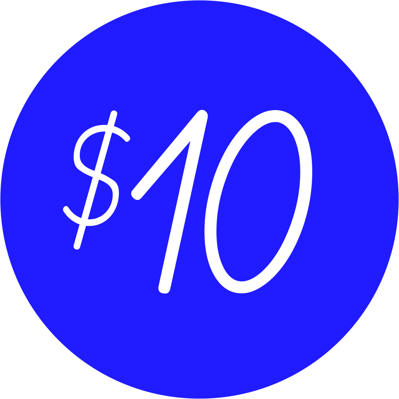$10 png donation. Institute of contemporary art