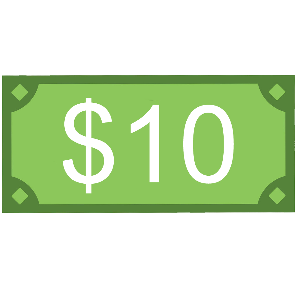 $10 png donation. Southern word