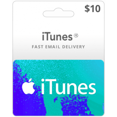 $10 png gift. Itunes cards us region