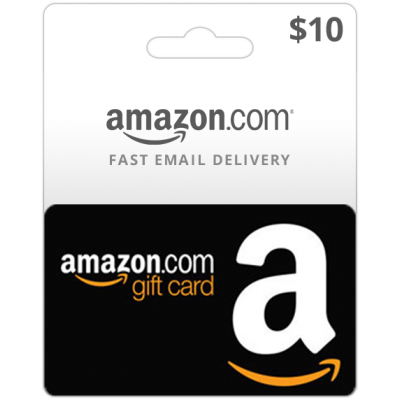 $10 png gift. Amazon card us region