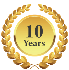 10 year celebration png. The deal of don