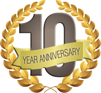 10 Year Celebration Transparent Png Clipart Free Download Ya