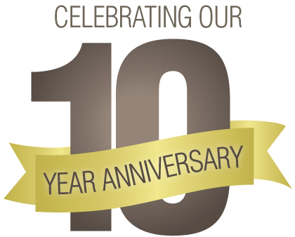 10 year celebration png. Join us for celebrating