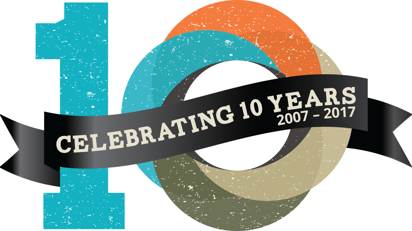 10 year celebration png. Anniversary alexandria first