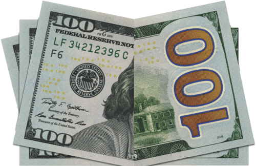 Blank drop card board. Blue hundred dollar bill png graphic freeuse