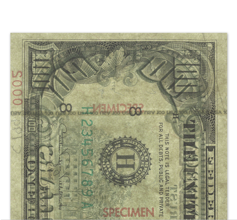 10 dollar bill png. Security features u