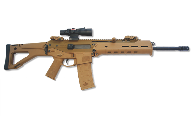 100 clip assault rifle. Battle bushmaster acr vs