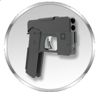 100 clip double barrel. Ideal conceal cell phone