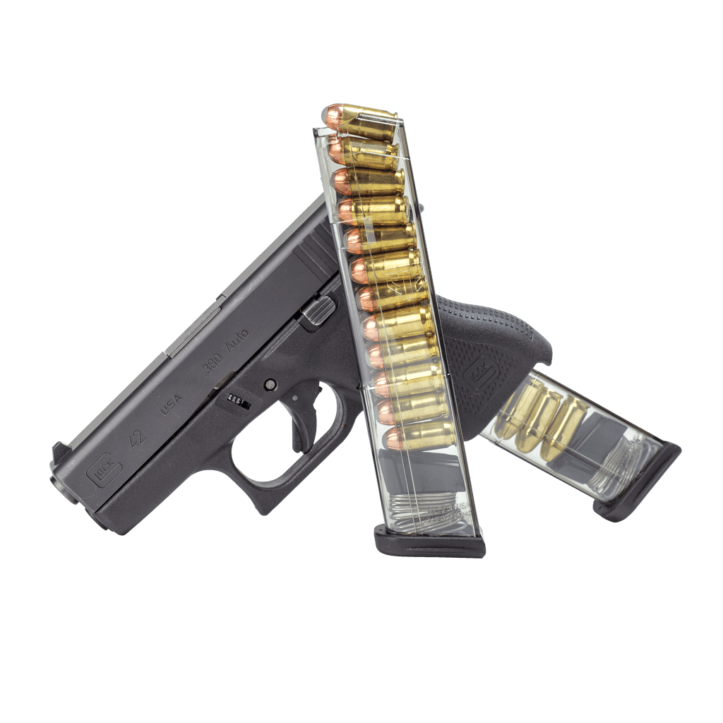 Vector magazines high capacity. Ets glock caliber round