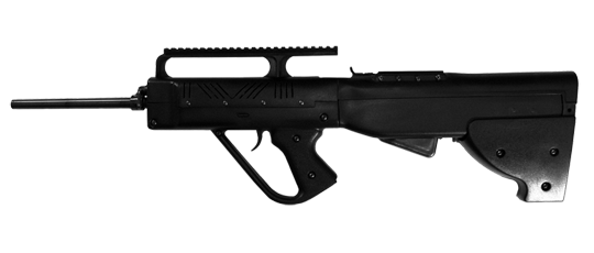 Firearm clip sks. New bullpup stock from