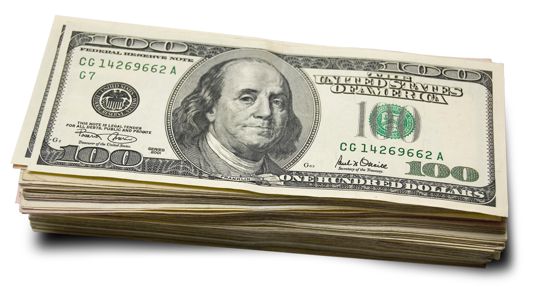 100 dollar png. Us hundred dollars image