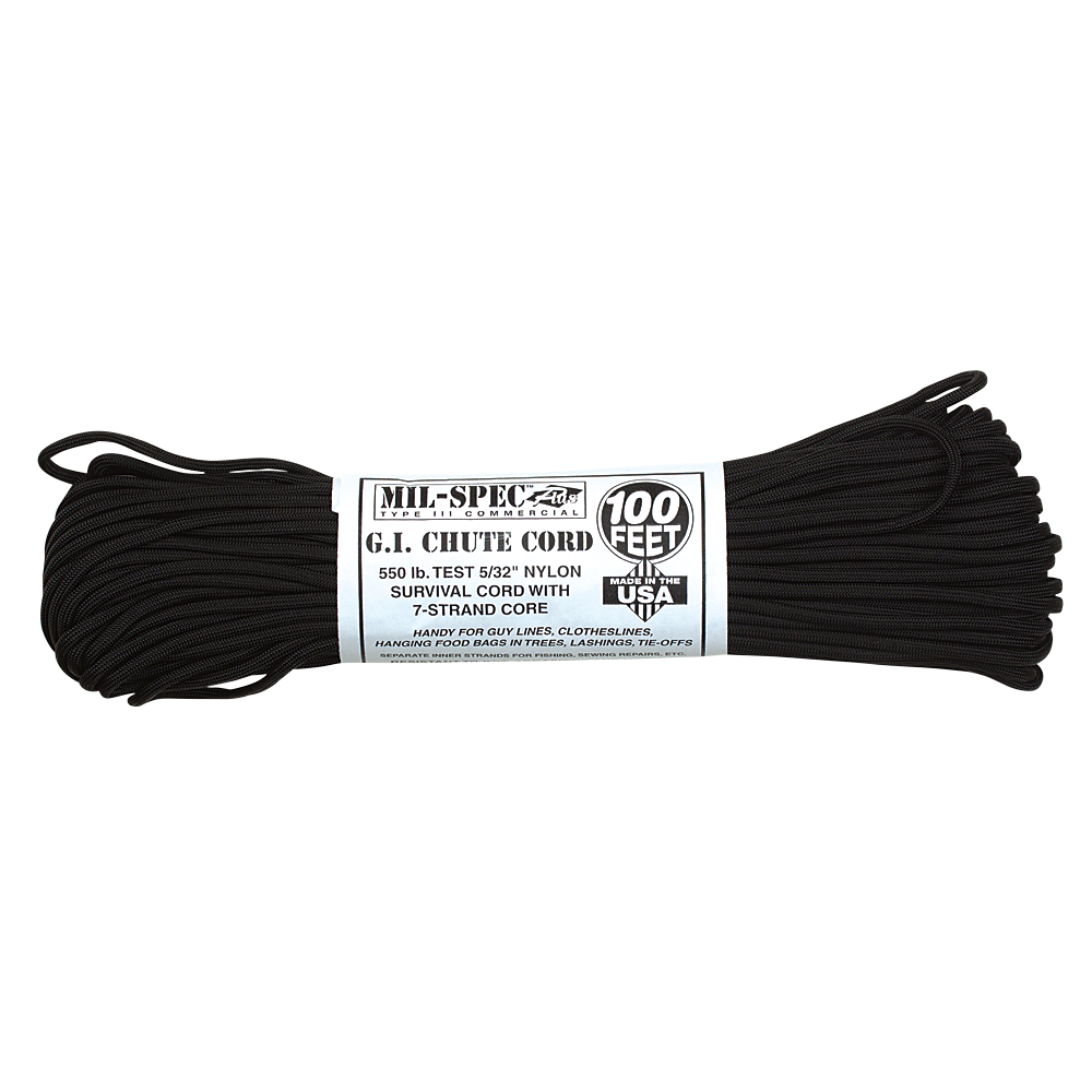 100 feet png. Mil spec stand cord
