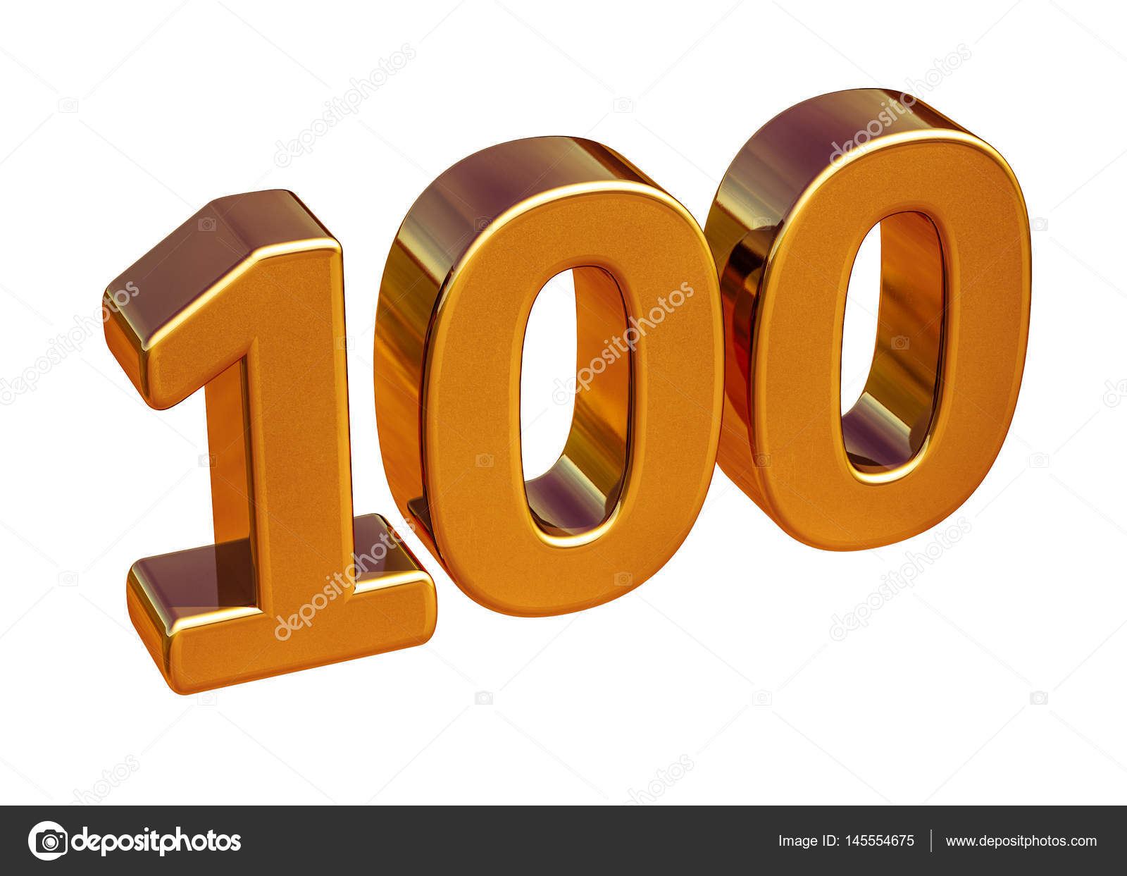 100th of clipart anniversary. Gold d th sign