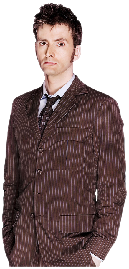 10th doctor png. Ten by charmingangel on