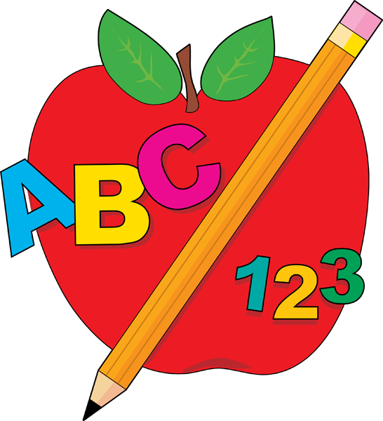 123 vector clipart. Apple free download on