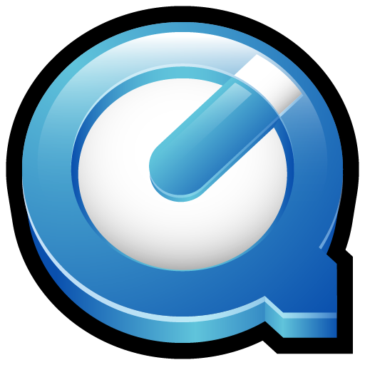128x128 png icons. Quicktime player icon gloss