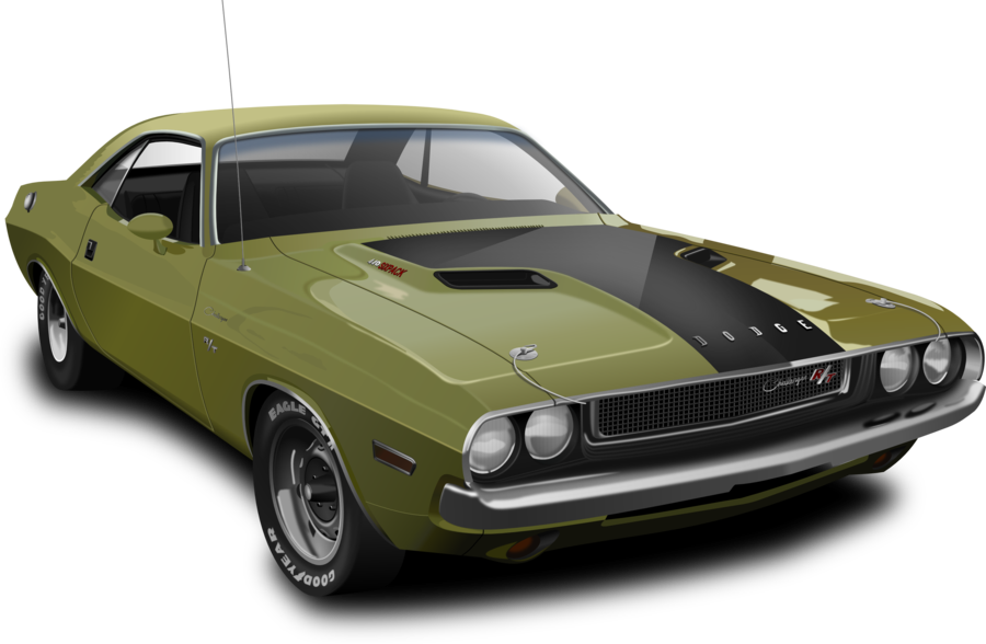 Challenger drawing. Dodge by malyszkz on