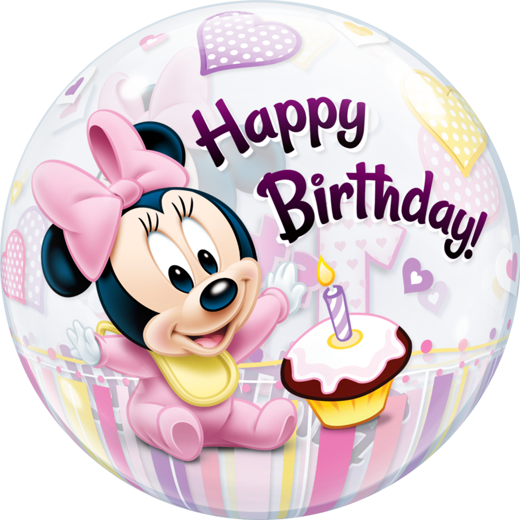 1st birthday png. Disney minnie mouse st