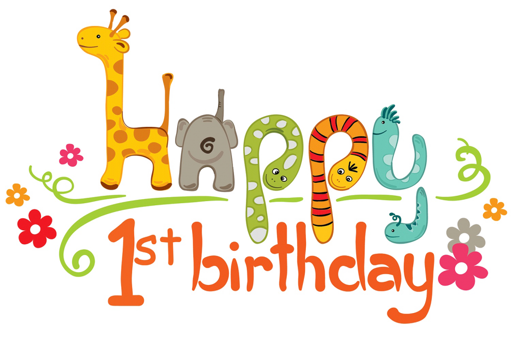 1st birthday png. St transparent image