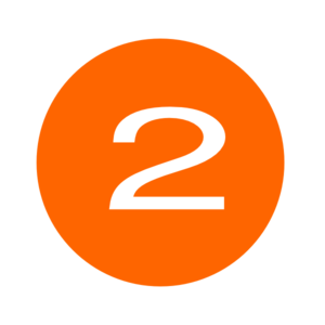 2 clipart orange. Number two clip art