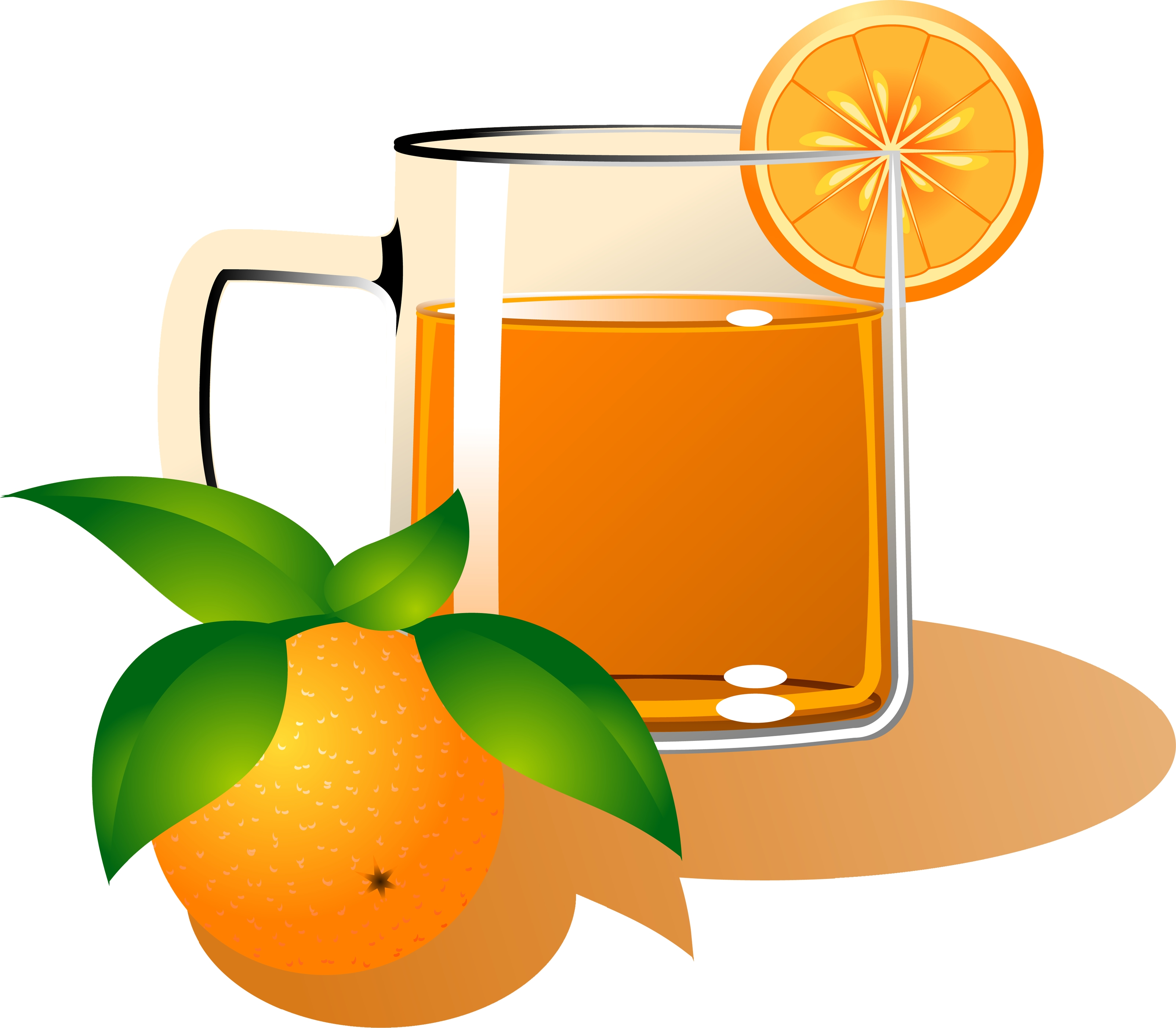 2 clipart orange. Juice g free images