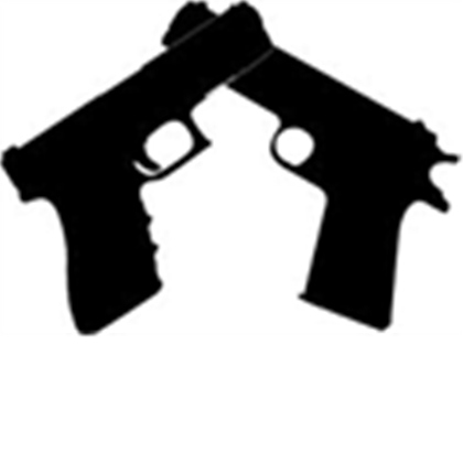 2 clipart pistol. Two gun pencil and