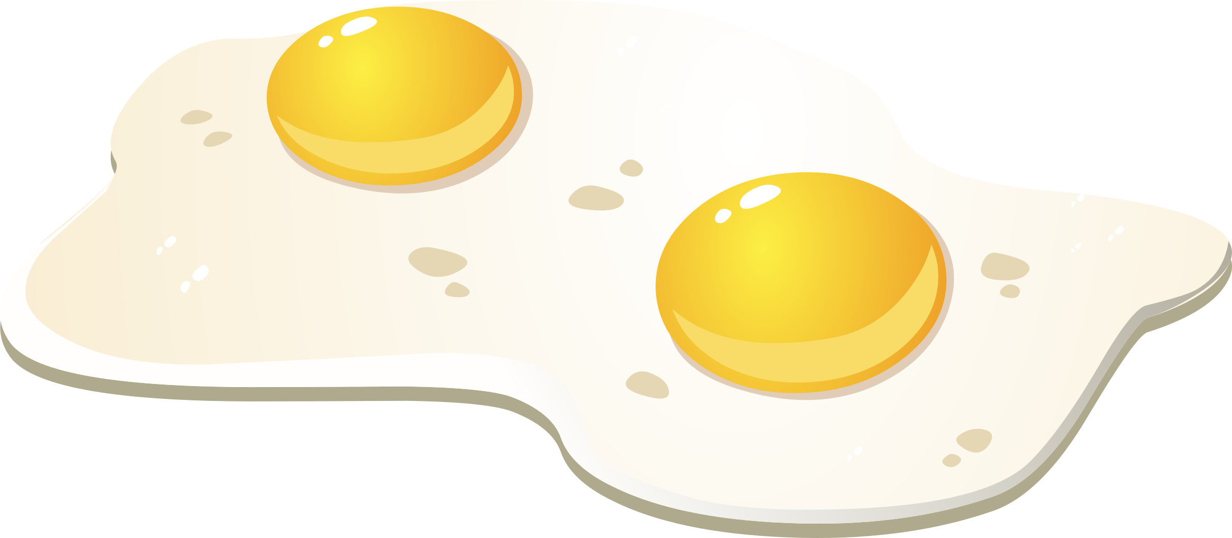 2 eggs png. Food fried icons free