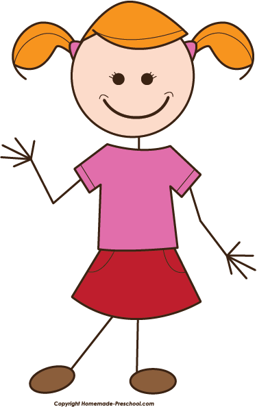 2 little girls stick figures png. My pictures clip art