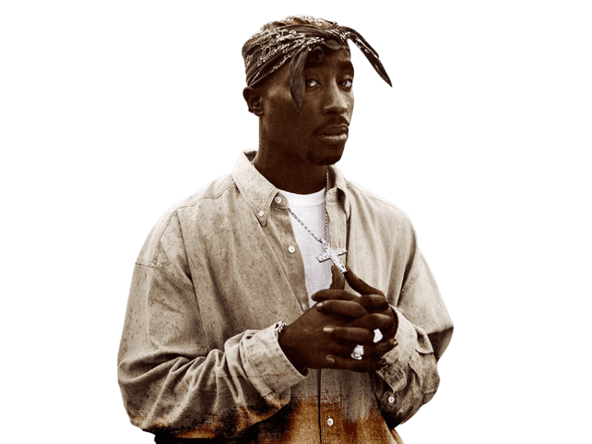 2pac transparent pointing