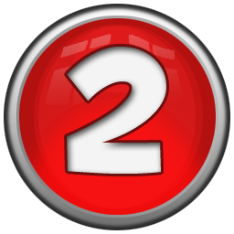 Number 2 icon png. Images free download