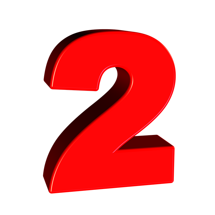 2 png. Number images free download