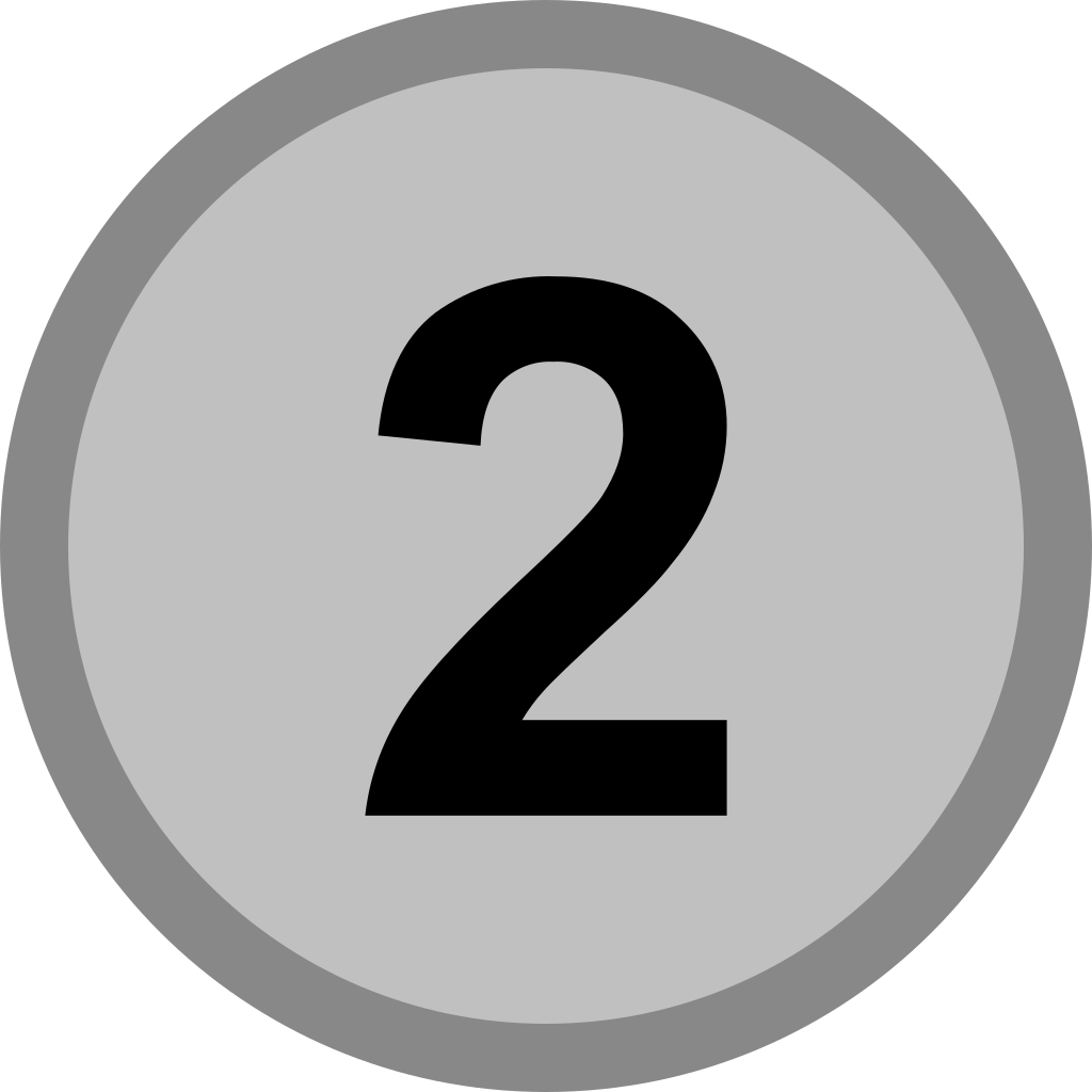 2 svg icone. File silver medal icon
