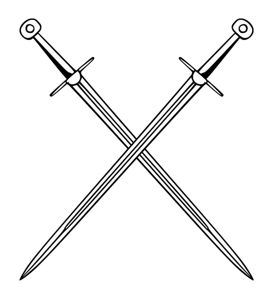 swords crossing png