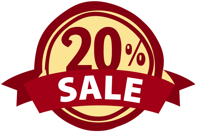 20 off sale png. Estore points crazy