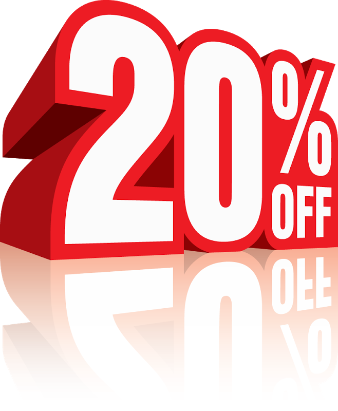 20 percent off png coupon. Sale sticker transparent pictures