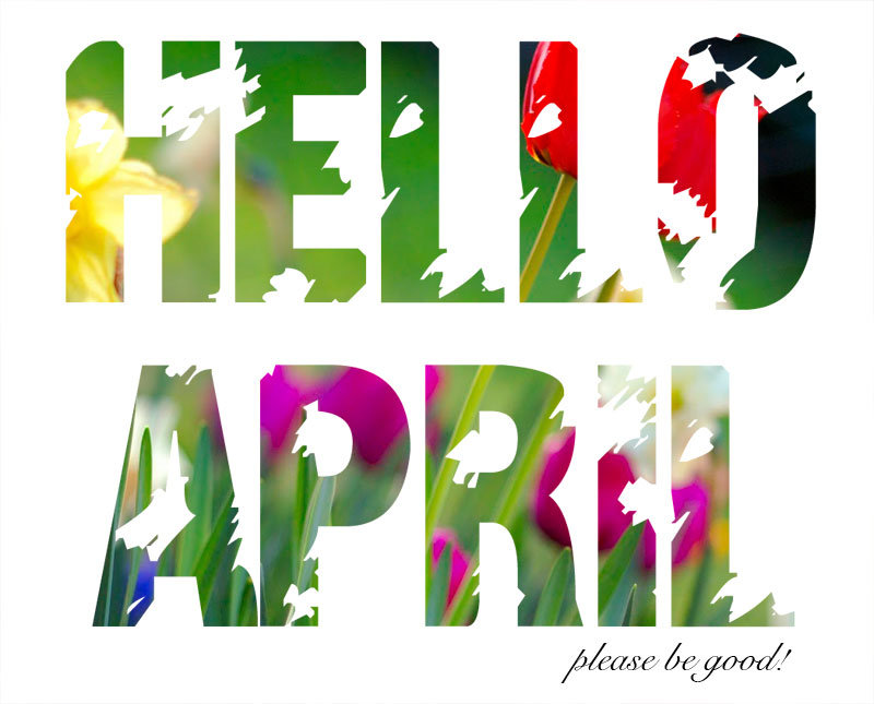 Luxury idea april images. 2016 clipart hello jpg freeuse download