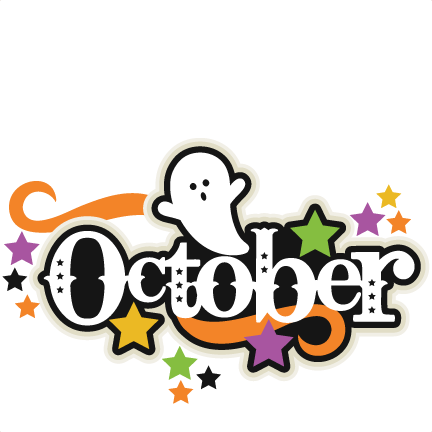 October clipart transparent. A class blog let