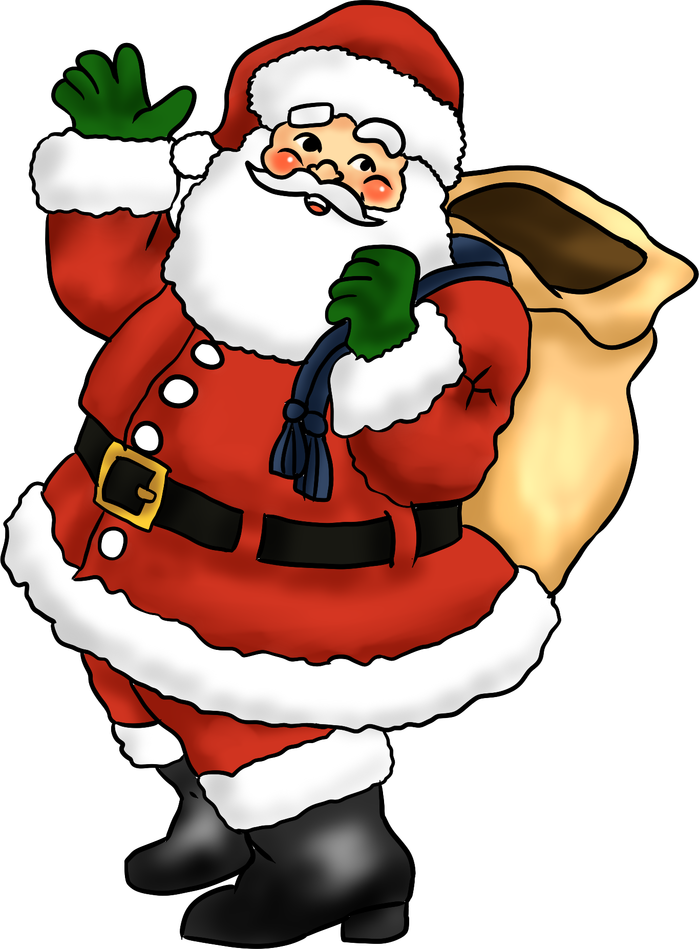2016 clipart santa claus. Index of images newsletter